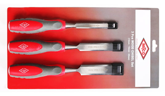 WOOD CHISEL SET Image